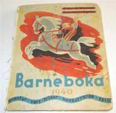1024 - Barneboka Torbjørn Egner 1940. Sjelden bok! - Selges av Fretex Moss fra Moss på QXL.no