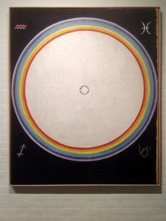 Hilma af Klint: Group IX/UW, No. The Dove, No. 154 × cm, Oil on canvas. Hilma Af Klint, Esoteric Art, Art For Art Sake, Outsider Art, Klimt, Constellations, Female Art, Art Lessons, Art History