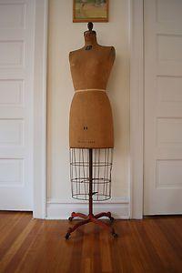 Vintage 1948 Jr Bauman Dress Form   eBay