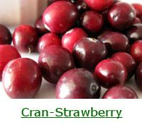 Cranberry-Strawberry Green Smoothie with Orange