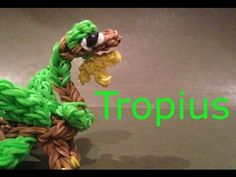Tropius Pokemon - Rainbow Loom Charms