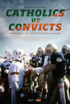 Espn Films 30 For Catholics Vs Convicts [Edizione: Stati Uniti] [Italia] [DVD] Notre Dame Football, Nd Football, Espn Baseball, College Football Players, School Football, Football Quotes, Baseball Bats, Football Stuff, Noter Dame