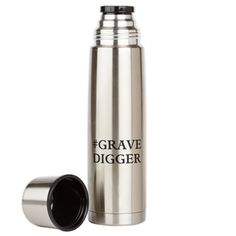 Grave Digger Large Thermos® Bottle