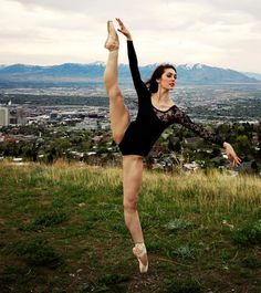 i like this girl a whole lot. and i love that she isn't the stereotypical dancer..the girl has muscle.