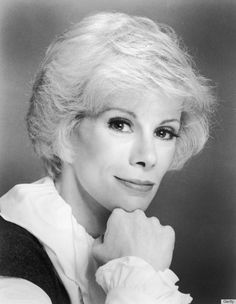 """joan rivers """"The only time a woman has a true orgasm is when she is shopping."""""""