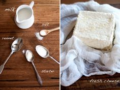 homemade ricotta, the real deal.