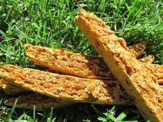 sweet potato chicken biscotti dog treat/biscuit recipe
