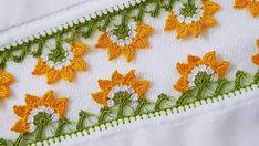 Tığ İşi Ayçiçeği Oyası Yapımı #mutfakhavlukenarı #tığoyası #havlukenarımodeli #havlukenarı Crochet Granny Square Beginner, Needle Lace, Crochet Designs, Crochet Doilies, Needlework, Diy And Crafts, Crochet Earrings, Lily, Instagram Posts