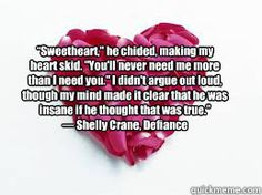 #BookQuotes - Significance Series: Defiance #3 by Shelly Crane