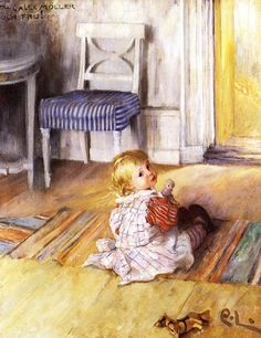 Carl Larsson (Swedish Realist Painter, A Studio Idyll. The artist's wife with daughter Suzanne Swedish artist Carl Larsson (. Carl Larsson, Illustrations, Illustration Art, Carl Spitzweg, Poster Prints, Art Prints, Scandinavian Art, Oil Painting Reproductions, Museum Of Fine Arts