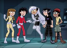 Commission by Amethyst-Ocean on DeviantArt Cartoon Network Shows, Cartoon Shows, A Cartoon, Cartoon Drawings, Johnny Phantom, Danny Phantom Funny, Character Poses, Character Design, Fantasma Danny