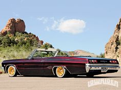 1965 chevrolet impala I can do without the gold rims 1965 Chevy Impala, Chevrolet Chevelle, 64 Impala, Convertible, Lowrider Trucks, Old School Cars, Us Cars, Rat Rods, Amazing Cars