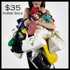 $35 Purse Sale Ends Sunday 8/4/13 http://www.es-boutique.com