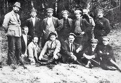 FIRING SQUAD THAT KILLED THE ROMANOVS~ led by Yakov Yurovsky, commandant of…