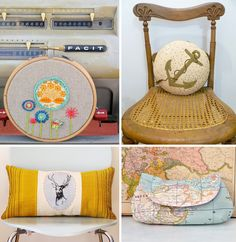 Styling your home with a crafty touch Handmade collection at Imaginative Bloom IB Flickr group picks: Styling your home with a crafty touch...