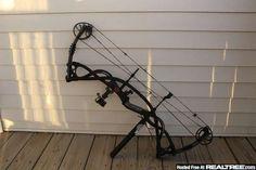 Hunting bow.