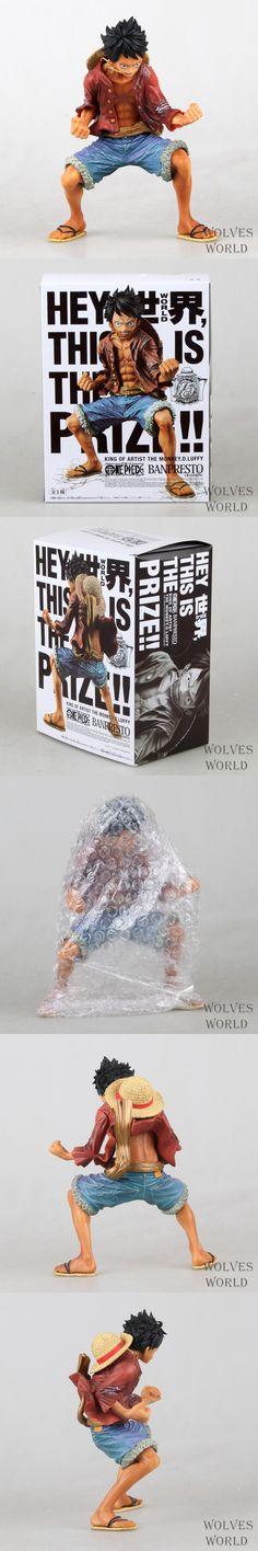 Japan One Piece New World Anime Figuarts Zero Monkey D Luffy Action Figure PVC Boxed Limit Model Garage Kits Kids Toys 0078