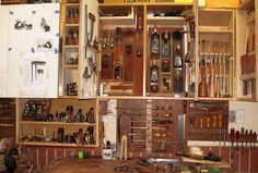 Handplane& storage - Canadian Woodworking and Home Improvement Forum Woodworking Store, Fine Woodworking, Canadian Woodworking, Woodworking Tools For Beginners, Woodworking Projects, Tool Storage, Storage Ideas, Shed Plans, Hand Tools