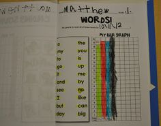 "Blog Post:  ""Empower Your Students with Doable Data""  See examples of age-appropriate data collection and goal setting with early readers.  {Creating Readers and Writers}"