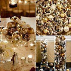 70 Sparkling New Year Eve Ideas - this is a wedding site, but I love this for New Year's!