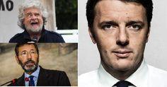 Marino, Grillo e Renzi. La Sfida Capitale