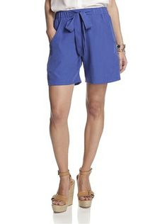 French Connection Women's Infinity Drape Short (Royal Blue) $60