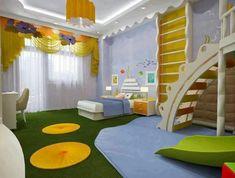 125 großartige Ideen zur Kinderzimmergestaltung - mit gelben akzenten kinderzimmer gestalten treppen