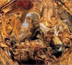 Solomon Receives the Queen of Sheba by Peter Paul Rubens, ca. 1620.