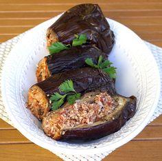 Sheikh Mahshi - Stuffed Eggplant