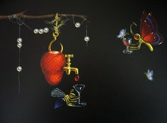 * Leila Ataya - - - Celebrations Magic Box, Cute Little Things, Art Boards, Celebrations, Drop Earrings, Night, Illustration, Artist, Artwork