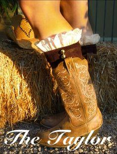 Sassy Socks boot socks & boot cuffs!!