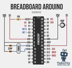 Breadboard Arduino Wiring Schematic