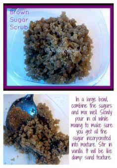 Brown Sugar Scrub - DIY