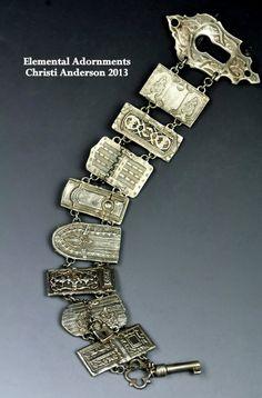 New Door Bracelet by Christi Anderson Elemental von cassioppea