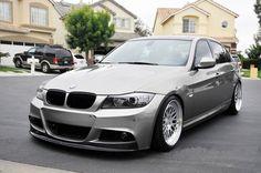 BMW E90/E91 LCI Front Lip for MTech Front Bumper BMFS9026
