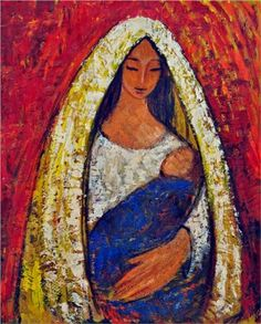 Mother and Child - George Stefanescu-Ramnic