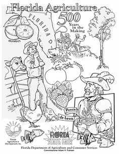 Click For Larger Pdf Printable Coloring Sheet