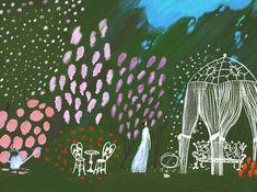 Illustrations of Maria Sann Bloom, Illustrations, Illustration, Paintings