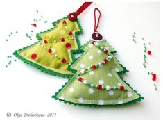 Marvels, and all sorts of things! - As I sewed Christmas trees - a new, brand-new)))