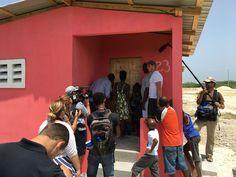 Baltimore Ravens' Elvis Dumervil funds 58 homes for jersey number #58 in Bercy, Haiti - newstorycharity.org/elvis