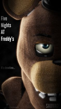 Freddy Poster - It's Showtime