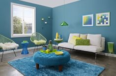 Inject bold, bright colour into your home with the Vitality palette. Embrace the zing of lime, a pop of yellow and dash of emerald in this youthful and vibrant palette that will bring any space to life. Please call us now at: 1800 008 007 or visit http://paintplace.com.au for more information.