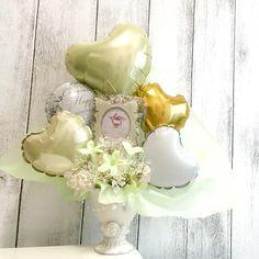 LIGHT GOLD PHOTO フォトフレーム Table top type - Chubby Balloon フリンジバルーンとおしゃれなバルーン電報のことならチャビーバルーン 大阪北堀江