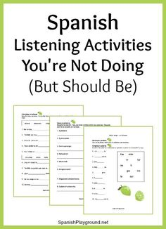 Spanish+Listening+Activities+You're+Not+Doing+(But+Should+Be)
