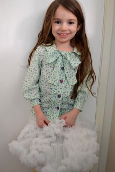 Blouse Pattern from Sew For Sweet Girls
