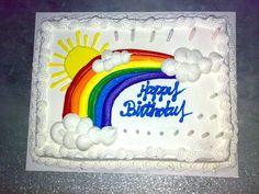 Birthday planning: Rainbow Party Theme