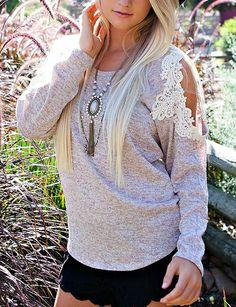 sweet me crochet lace , oatmeal