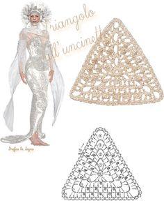 Enchanted plots: Crochet Triangles (Diagrams)