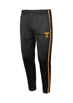 Colosseum Athletics Tennessee Volunteers Starting Block Tapered Pant - Black - 2Xl