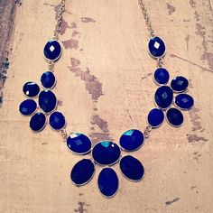 Great new cobalt statement necklace!